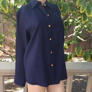 Ralph Lauren Button Down Linen Shirt